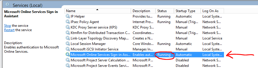 AzurePlugin was not able to get Tenant Info from configuration server