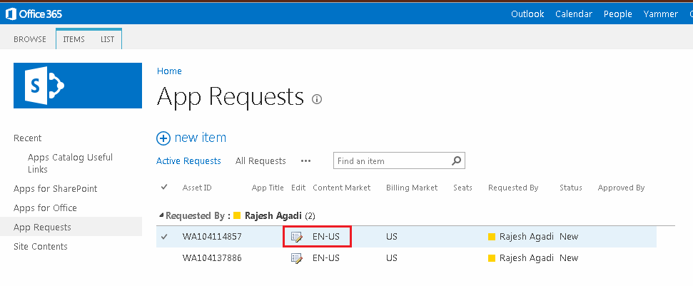 Managing App Permission in O365 4