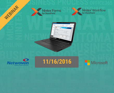 Building Microsoft SharePoint Workflow & Forms using Nintex