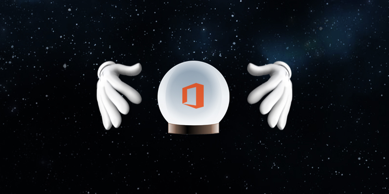 Three Predictions About Office 365 in 2017