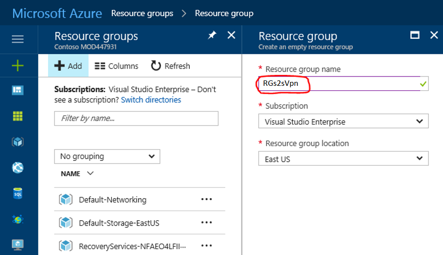 Microsoft Azure Site-to-Site VPN with SonicWALL OS | Netwoven