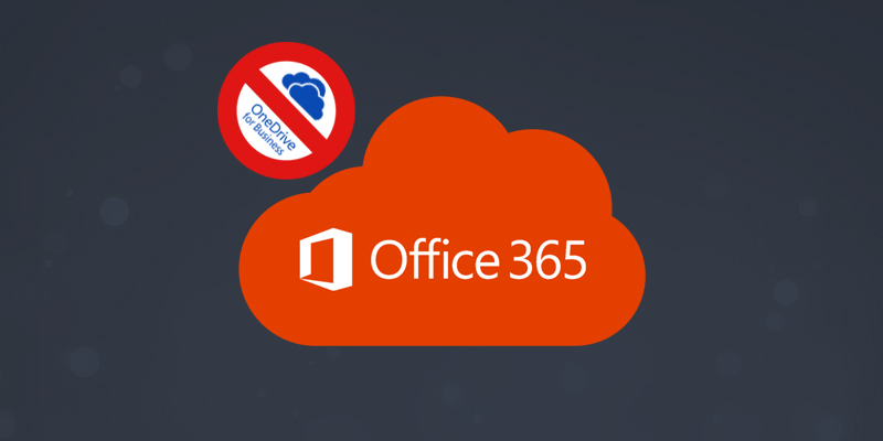 Restrict OneDrive For Business Access