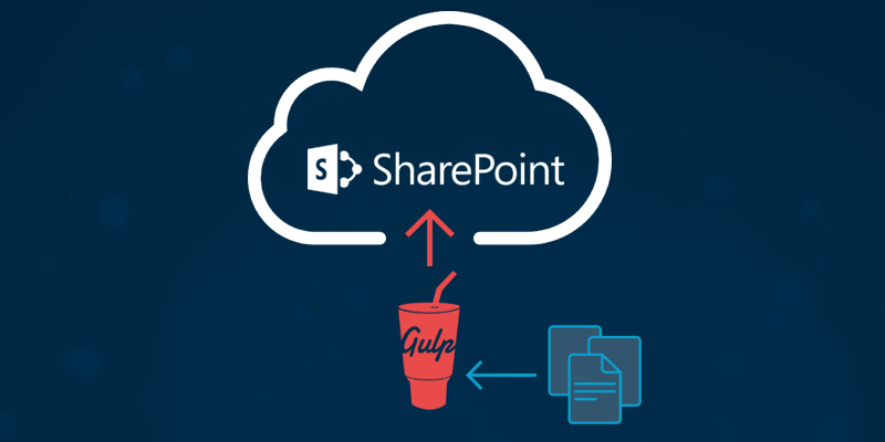 A Gulp Task for Uploading Files to SharePoint