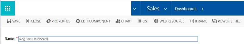 How to Create a Dashboard on Dynamics 365?