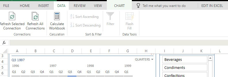 Excel for BI Reporting and Publishing Through SharePoint
