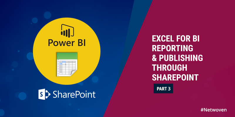 Excel for BI Reporting and Publishing Through SharePoint - Part 3