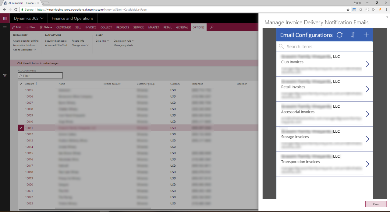 Integrating Microsoft PowerApps with Dynamics 365 for