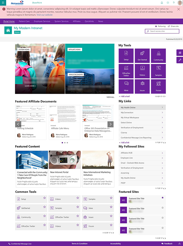 Brilliant ways to customize your Modern SharePoint Intranet