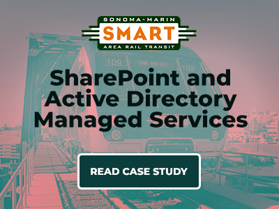 SharePoint and Active Directory Managed Services