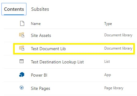 Create SharePoint Online Document Library from Other/Existing Document Library