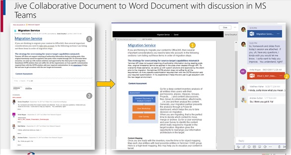4 Ways To Migrate Jive Comments and Discussions To Office 365