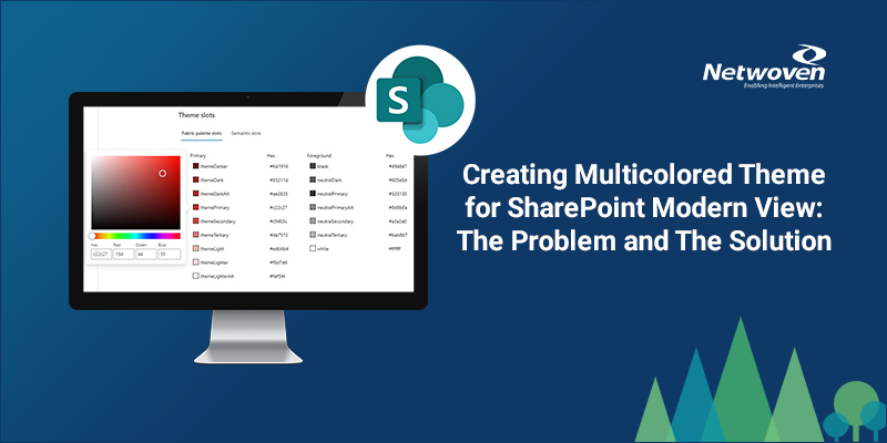 Creating Multicolored Theme for SharePoint Modern View: The Problem and The Solution