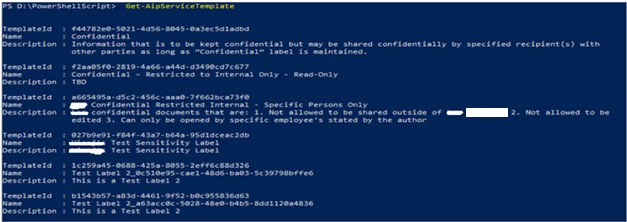 How to Migrate Azure Information Protection labels from Dev to Production Tenant using PowerShell