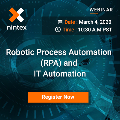 Robotic Process Automation (RPA) and IT Automation