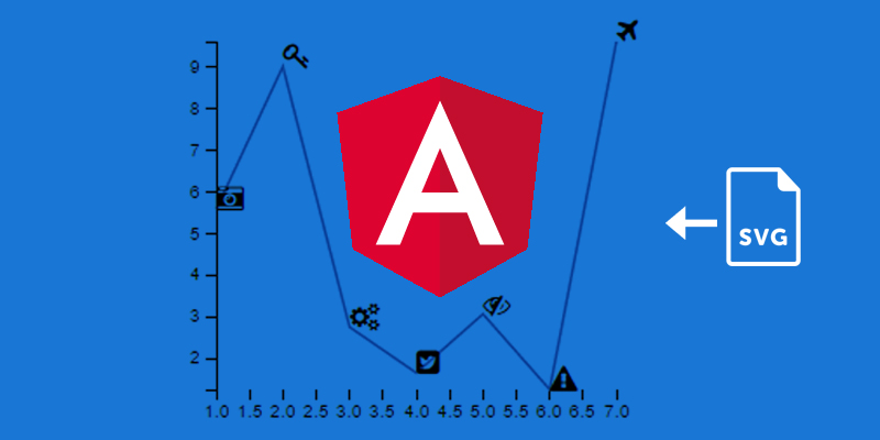 Different Ways of Adding Custom SVG Images to D3 Line Charts in Angular 4