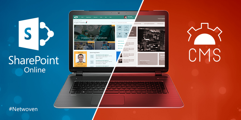 How to Choose Between SharePoint Online or a CMS for Your New Intranet