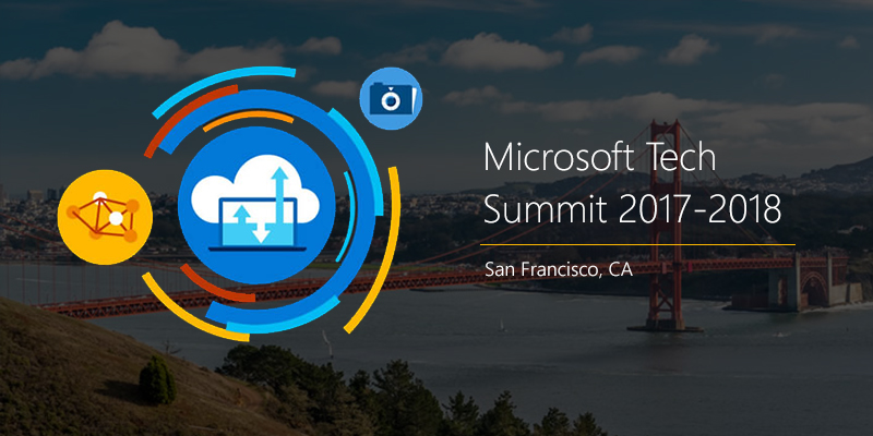 Microsoft Tech Summit in San Francisco