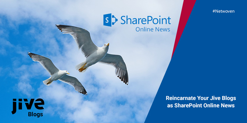Reincarnate Your Jive Blogs as SharePoint Online News