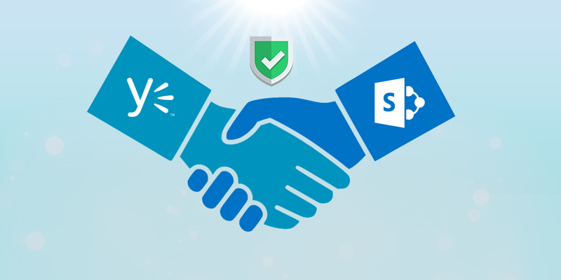 Yammer – SharePoint Authentication Handshake