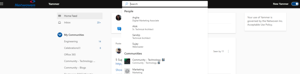 Yammer – Experience the new look and feel