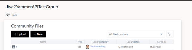 How To Programmatically Upload Large Files to Yammer Using Rest API and AAD Token – Part 2