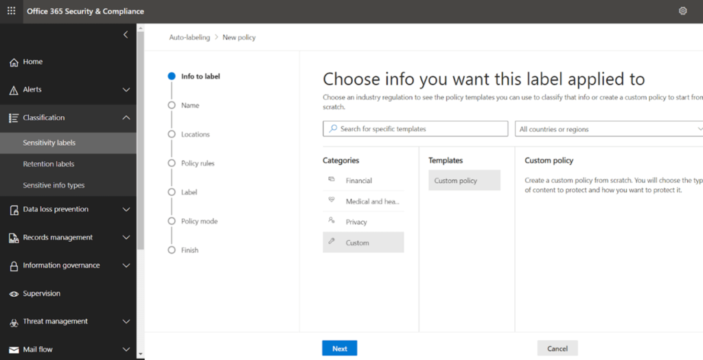 Security Assessment and Solutioning with Microsoft 365 Security and Compliance Center