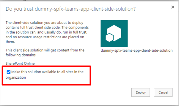 Part I : How to Create Microsoft Teams Personal Tab Using SPFx